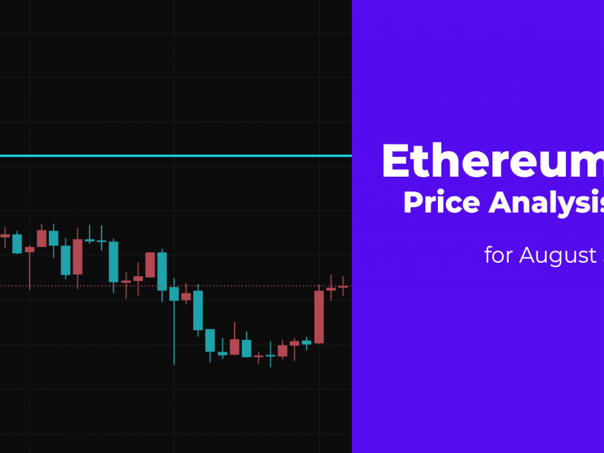 Ethereum (ETH) Price Analysis for August 5